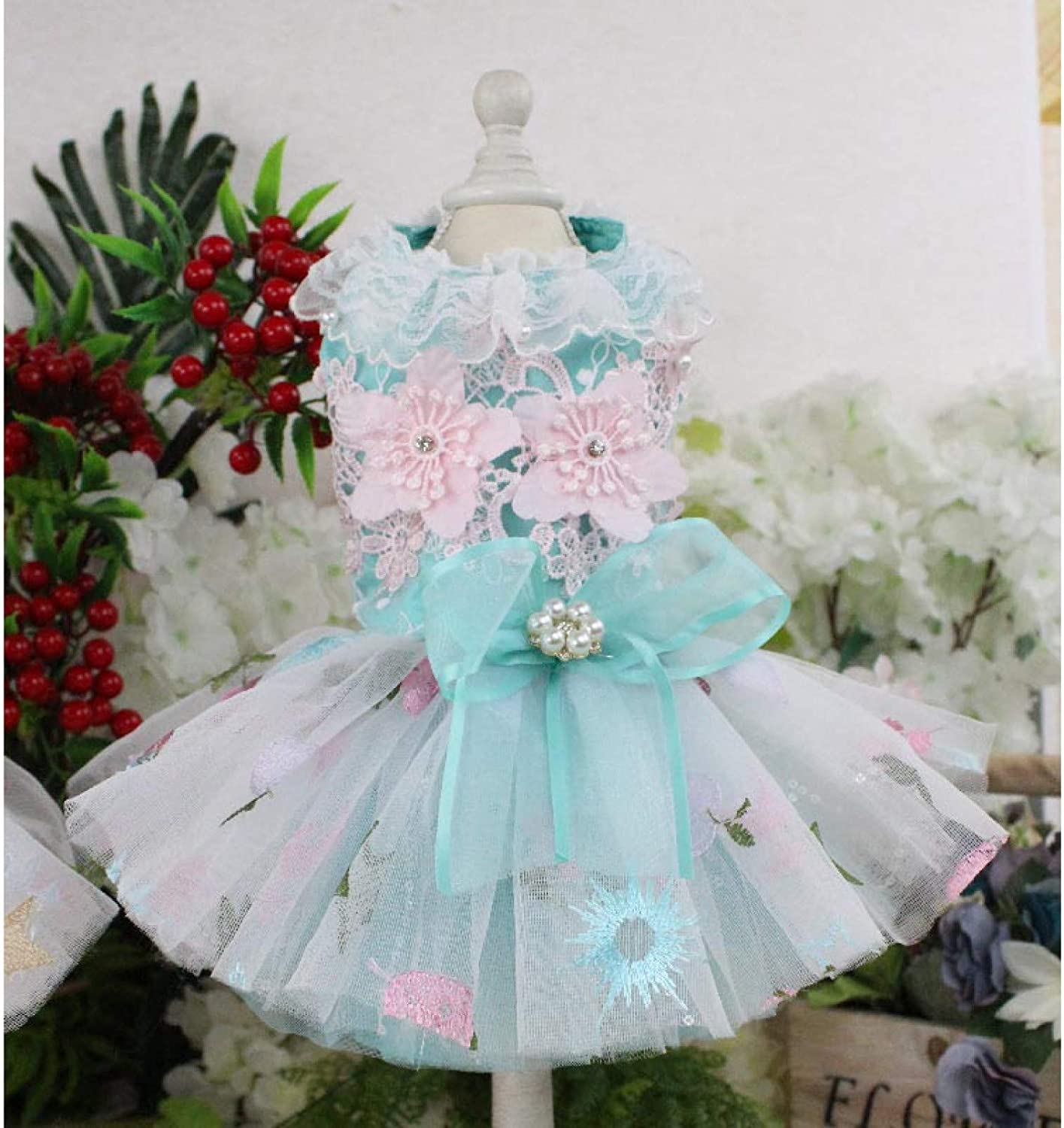 wholesale XIAOTAO Cat and Dog Clothes Luxury Dress Weeding Translated Dogs