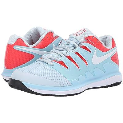 Nike Air Zoom Vapor X (Still Blue/White/Bright Crimson/Black) Women