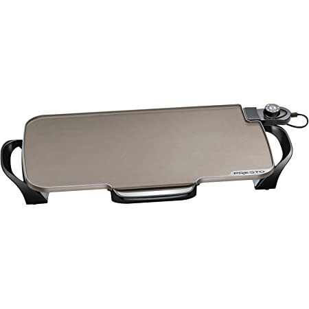07061 22-inch Electric Griddle With Removable Handles