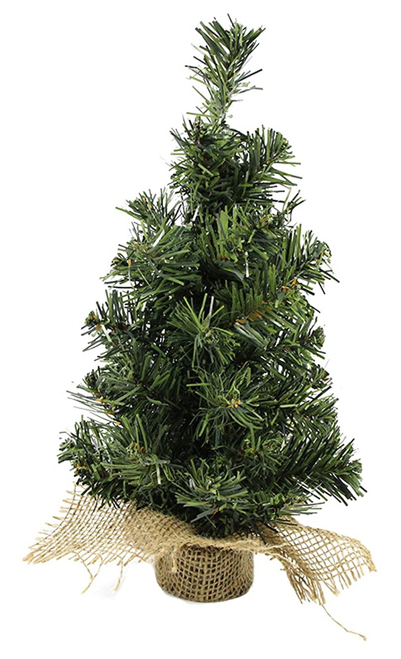 十代風ロードされたC-Princess クリスマスツリー ミニ 小型 卓上 テーブル クリスマス飾り オーナメント 室内装飾物 飾り付け インテリア パーティー イベント グリーン