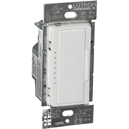 QTY-2 Lutron MACL-153M-WH Maestro 150-Watt Multi-Location CFL//LED DIGITAL DIMMER