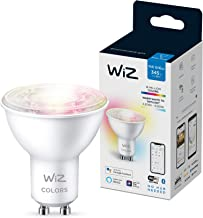 WiZ GU10 Wi-Fi + Bluetooth Smart LED Bulb, Multicolor