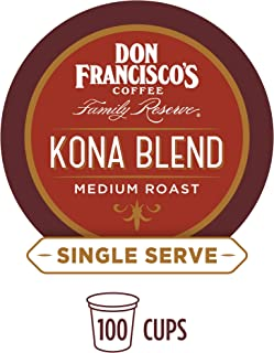 Don Francisco's Kona Blend (100 Count) Single-Serve Coffee Pods, Compatible with Keurig K-Cup Brewers