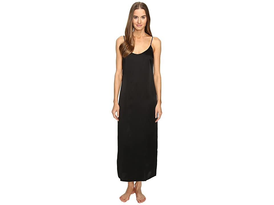 La Perla Silk Night Gown (Black) Women
