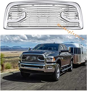 Fit 13-18 Dodge Ram 2500 3500 Laramie Limited New Front Chrome Grille W/LETTERS