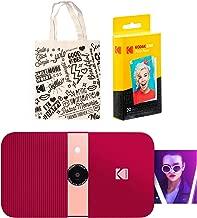 KODAK Smile Instant Print Digital Camera (Red) Tote Bag Kit
