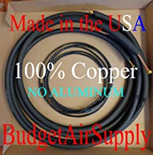 Copper Ductless mini split Line set+WIRE 1/4 x 1/2 x 50ft Insulated 100%