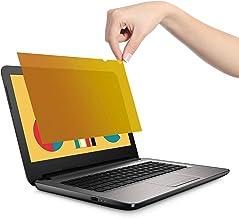 VistaProtect - Premium Gold Blickschutzfilter, Gold Privacy Filter, Blickschutzfolie für Laptops & Notebooks (14″ Zoll)