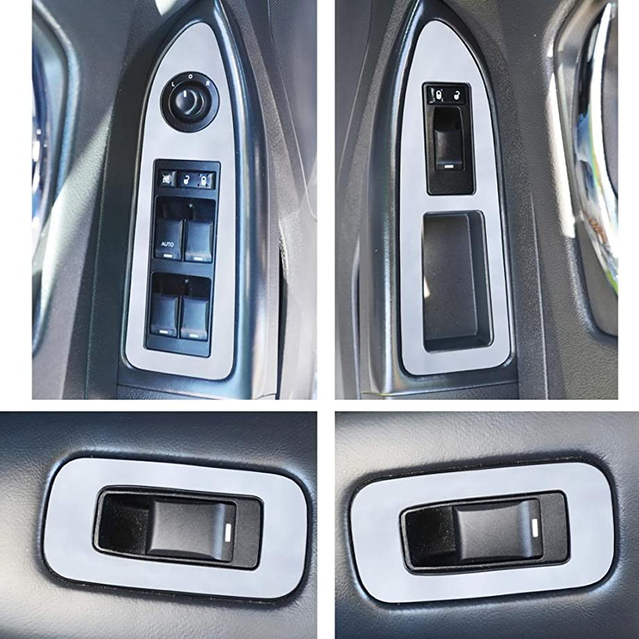 Ferreus Industries Polished Stainless Door Trim fits: 2008-2010 Dodge Charger and 2005-2010 Chrysler 300 OTH-105-01-01