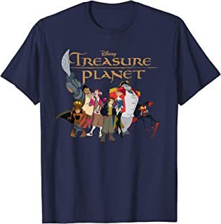 Disney Treasure Planet Logo and Characters T-Shirt