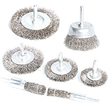 20* Stainless Steel Wire-Wheels// Brushes For Mini Drill Grinder Rotary Tools Kit