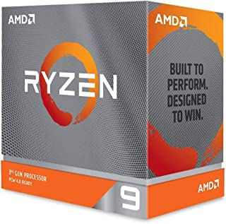 AMD Ryzen 9 3950X 16-Core AM4 3.50 GHz Unlocked CPU Processor, Black, X-Large, 100-100000051WOF