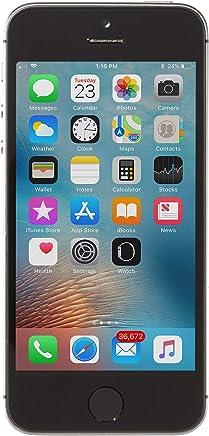 Apple iPhone 5S 16GB Factory Unlocked Smartphone, Space Gray (Renewed)