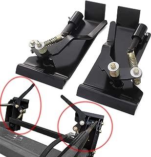 CNSYSkid Steer Quick Attach Conversion Adapter Latch Box Weld Plate On QTK