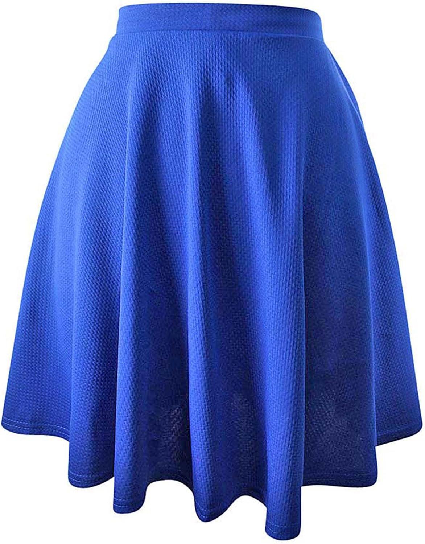 Luxury Divas Short Flared Skater Skirt
