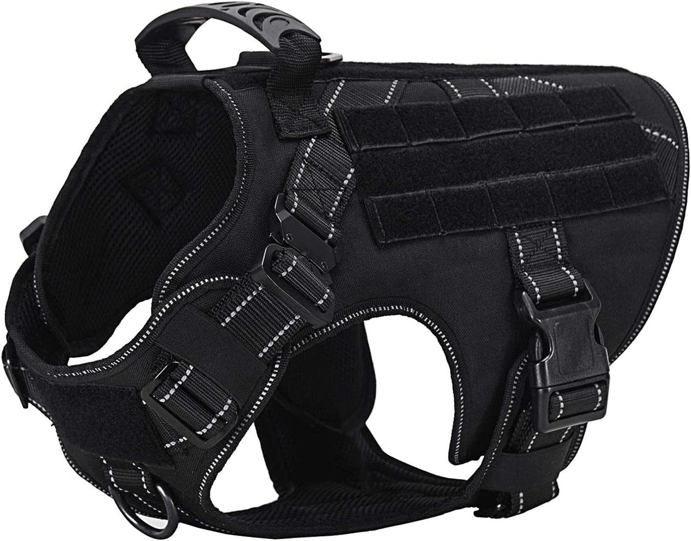 free SMONT Tactical Dog Harness Max 73% OFF for Medium Militar Large No Pull Dogs