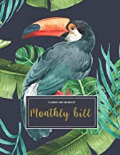 Monthly Bill Planner And Organizer: cash expense tracker | 3 Year Calendar 2020-2022 Weekly & Monthly Expense Tracker Orga...