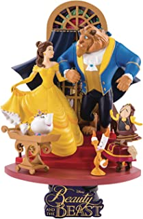 DISNEY - D-Select - Beauty and the Beast Diorama - 18cm, multicoloured, MAY189045