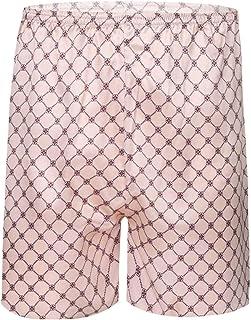 TSSOE Men's Dragon Printed Pajama Shorts Nightwear Lounge Wear Bottom Undershorts