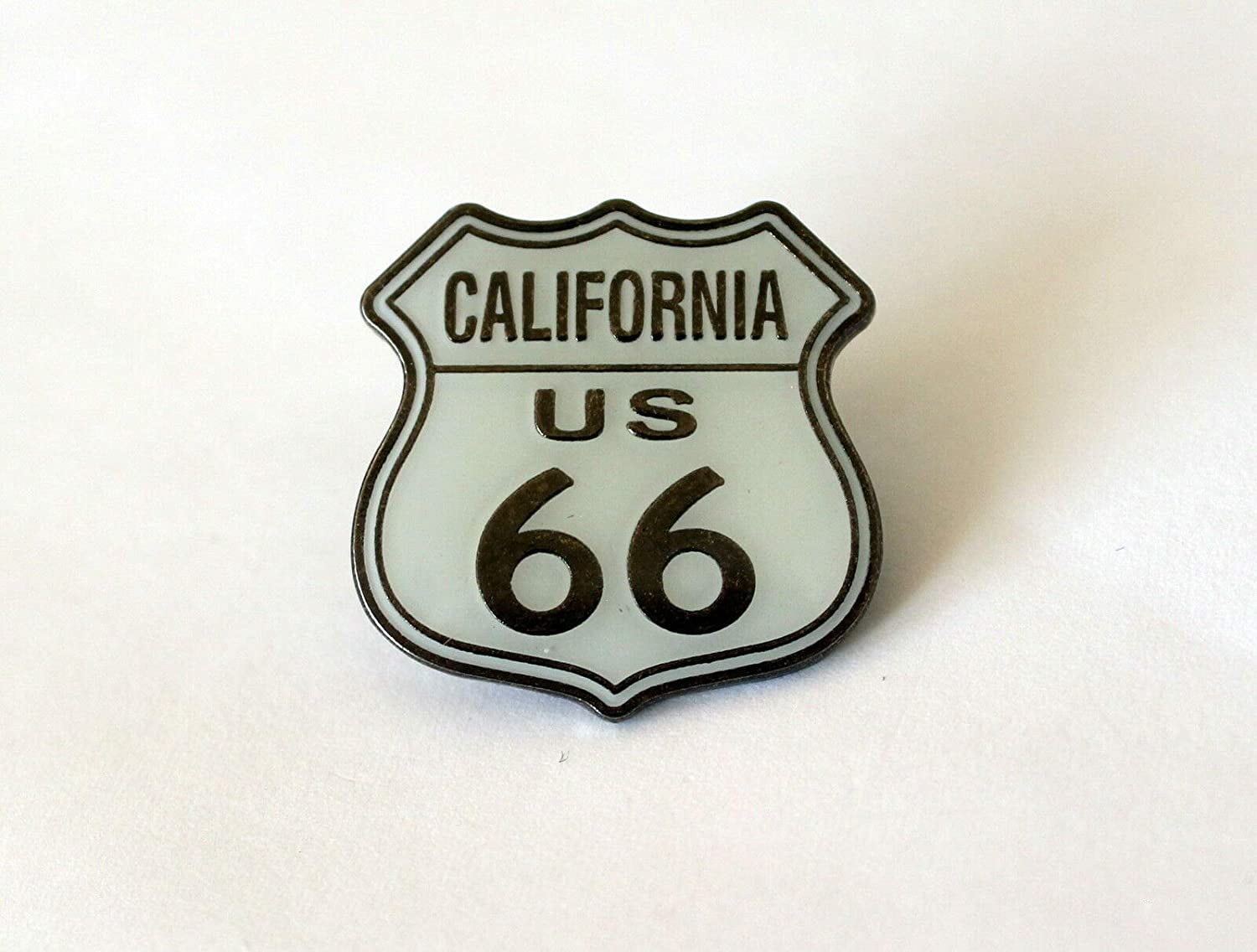 California Route 66 Road Sign Tack Tie Lapel [Alternative dealer] Limited price sale Hat Pin