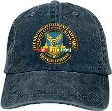 JOROSEEShirley 1st Military Intelligence Battalion W SVC Ribbon Summer Fashion Unisex Outdoor Cowboy Hat