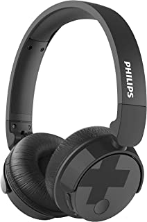 Philips TABH305BK/00 Bass+ Wireless Headphone with Microphone Active Noise Cancellation