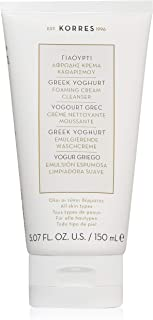 KORRES Greek Yoghurt Foaming Cream Cleanser, 5.7 fl. oz.