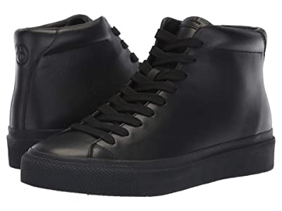 rag & bone RB1 High Top Sneakers (Black) Men
