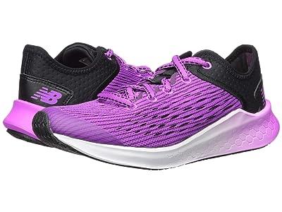 New Balance Kids Fresh Foam Fast (Little Kid/Big Kid) (Black/Voltage Violet) Girls Shoes