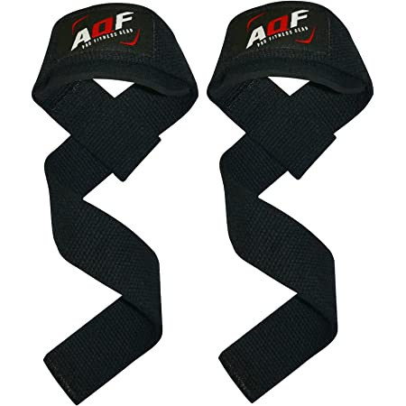 Pro Weight Lifting Straps Elite Body Squad Lifting Straps With Neoprene Padded