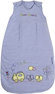 Slumbersafe Summer Baby Sleeping Bag 1 Tog - Choo Choo, 6-18 months/MEDIUM