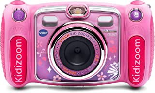 VTech Kidizoom Duo Selfie Camera, Amazon Exclusive, Pink (Renewed)