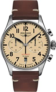 Iron Annie - Iron Annie Cockpit 5122-5 - Reloj de pulsera para hombre (cronógrafo, cristal de zafiro)