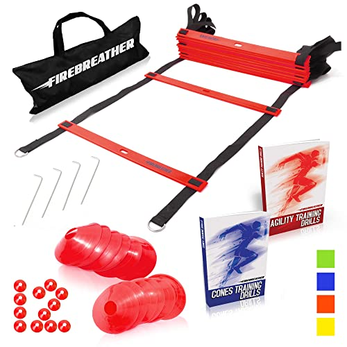 Martial Arts Marker Cones Speed Agility Training Gym Fitness MMA Kids Drills