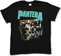 Keya Pantera Hostile Band Image Dimebag Black T-shirt
