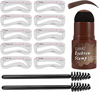 EyeBrow Stamp Kit Waterproof | One Step Eyebrow Stamp Shaping Kit | Eyebrow Stamp Stencil Kit | Eyebrow Stamp Makeup Tools...