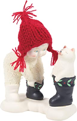 Department56 Snowbabies Classics Christmas Memories That's My Boot Figurine, 4.13 Inch, Multicolor
