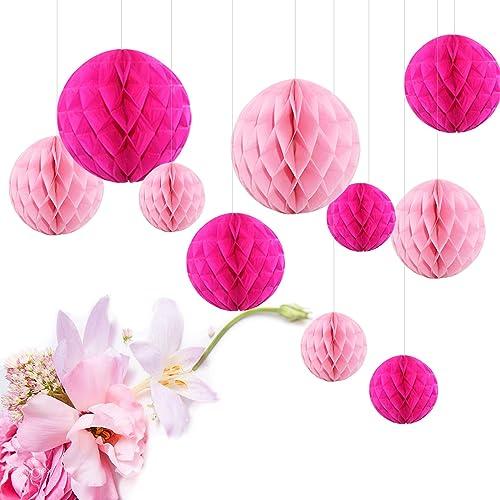 Tischdeko Pink Amazon De