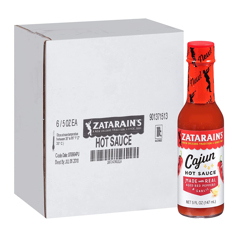 Zatarain's Cajun Free shipping on posting reviews Hot Sauce 5 Arlington Mall Pack oz fl of 6