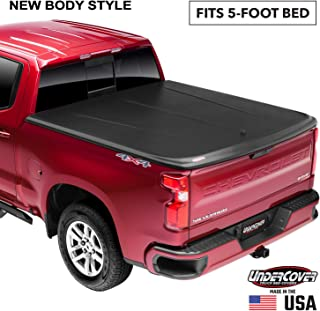 Undercover SE One-Piece Truck Bed Tonneau Cover | UC1156 | Fits 15-20 Chevrolet Colorado/ GMC Canyon 5' Bed