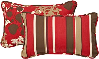 Best red and brown decorative pillows Reviews