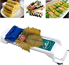 AUOKER Dolma Roller, Sushi Roller Meat Rolling Tool for Beginners and Children Stuffed Grape & Cabbage Leaves, Rolling Meat and Vegetable - Kitchen DIY Sushi Maker Meat Sarma Rolling Tool Machine