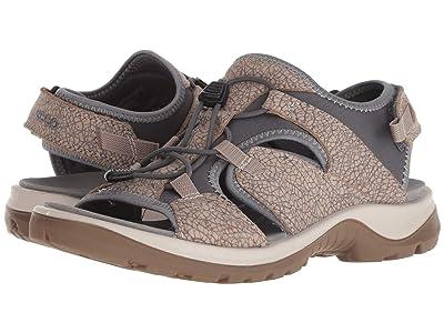 ECCO Sport Offroad Toggle Sandal (Nude/Marine) Women