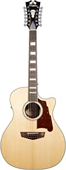 D'Angelico Fulton Grand Auditorium 12-String Acoustic-Electric Guitar
