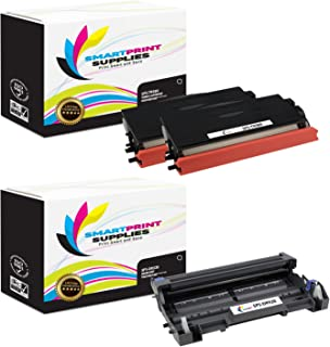 Smart Print Supplies Compatible TN580 DR520 Toner Cartridge and Drum Unit Replacement for Brother HL-5240 5250DN 5280DW, MFC-8460N 8660DN 8860DN 8870DW, DCP-8060 Printers (2 TN-580, 1 DR-520) - 3 Pack