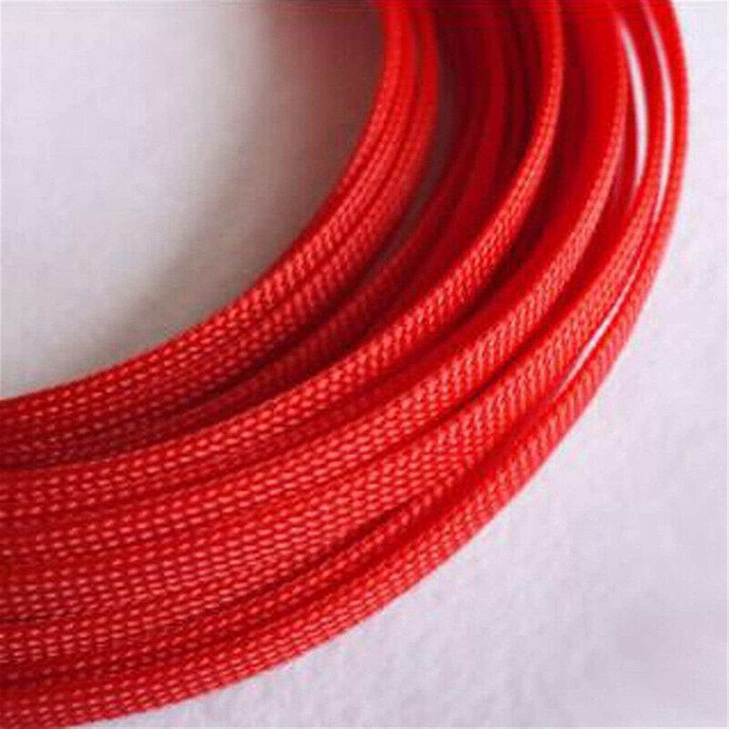 New arrival Cable Tidy Sleeves 1-30M Mes OFFer 3-40mm Snakeskin Red