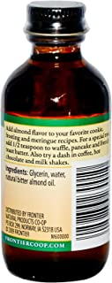 Frontier Natural Products Almond Alcohol Free -- 2 fl oz