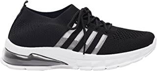 Shoexpress Womens Textured Lace-Up Trainers