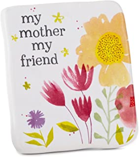 Hallmark Mother Friend Ceramic Quote Block, 2.5x3 Plaques & Signs Family