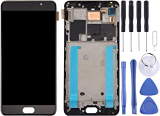 SHUHAN LCD Screen Phone Repair Part For Meizu Pro 6 Plus LCD Screen and Digitizer Full Assembly with Frame Mobile Phone Ac...